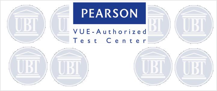 UBT – Pearson VUE Authorized Test Center